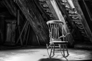 Steve Shale_Chair in Attic